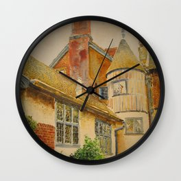 In the suburbs of London Wall Clock