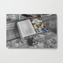 The Bible Metal Print