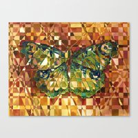 moth Canvas Prints featuring Moth by S.G. DeCarlo
