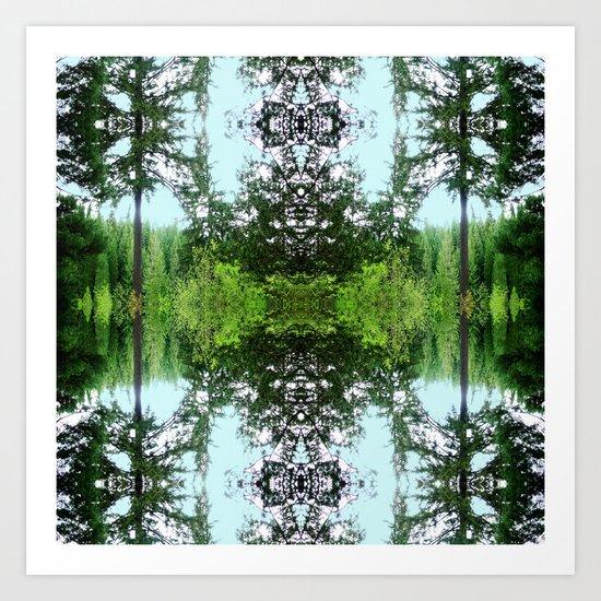 Arboretum Art Print