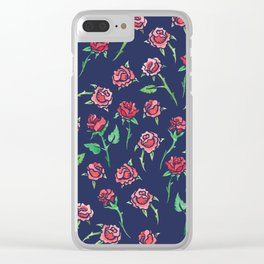 Roses Rose Gardner Clear iPhone Case