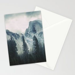 Cross Mountains II Stationery Cards