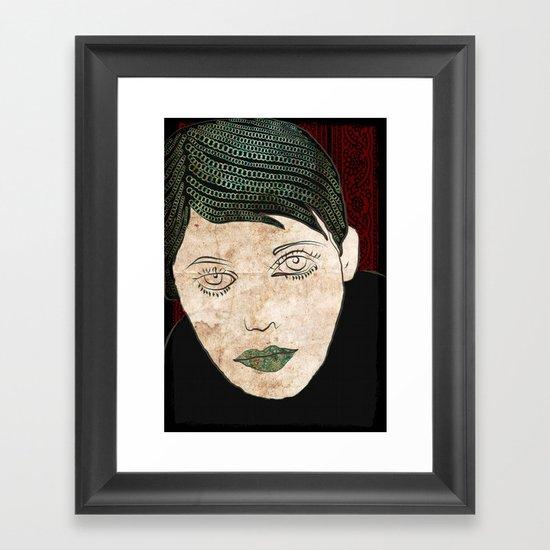 156 Framed Art Print