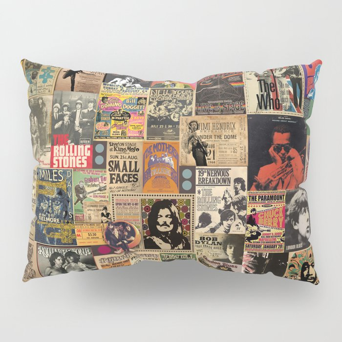 Rock'n Roll Stories Pillow Sham