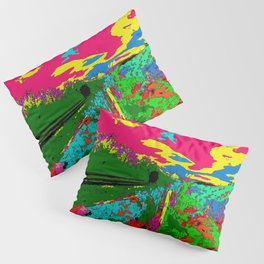 Violets Pillow Sham