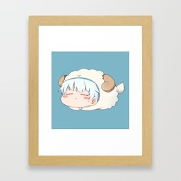 Gintama - Gintoki Cute Framed Art Print