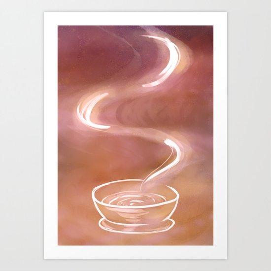 Hot Bowl Art Print