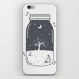 Halloween in a jar iPhone Skin