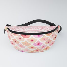 BEWBS Boobs Watercolor Scallop Fanny Pack