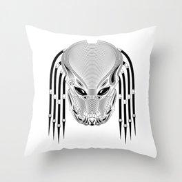 Berserker Predator Throw Pillow