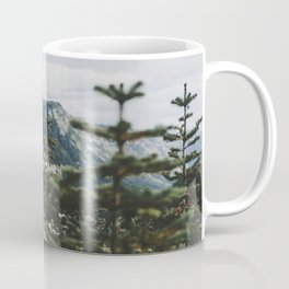 Mount Rainier Summer Wildflowers Coffee Mug
