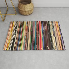 Record Collector Rug