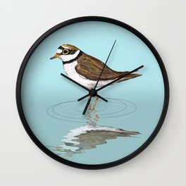 Little ringed plover Wall Clock