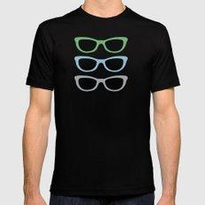 Sunglasses at Night MEDIUM Black Mens Fitted Tee