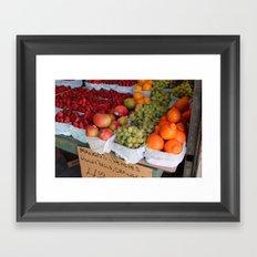 Les Fruits Framed Art Print