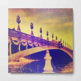 Pont Alexandre, Paris Metal Print