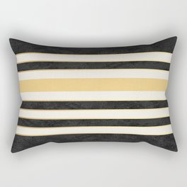 Marble stripes Rectangular Pillow