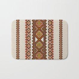 Ukrainian embroidery Bath Mat