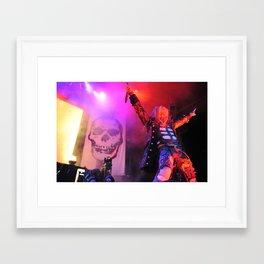 Zombie Showman Framed Art Print