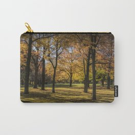 Fall City Park Scene Carry-All Pouch