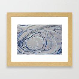 Coil Framed Art Print