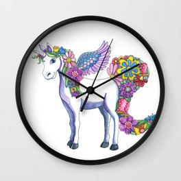 Madeline the Magic Unicorn Wall Clock