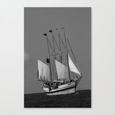 The Battle of Lake Erie Canvas Print