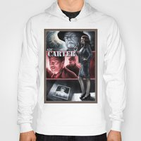 agent carter Hoodies featuring Agent Carter Color by rnlaing