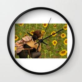 Wandering Wall Clock