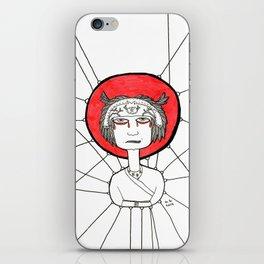Angry Ninja iPhone Skin