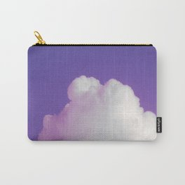 Big Fluffy Cloud Against a Purple Sky, Beautiful Cloud and Beautiful Sky Carry-All Pouch