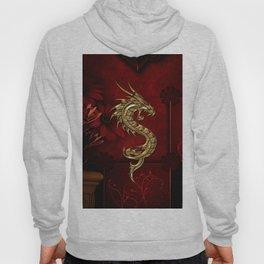 Wonderful golden chinese dragon Hoody