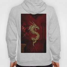 Wonderful golden chinese dragon Hoody