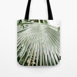 Botanical garden close up | Palm leaf detail | Fine art photography print Tote Bag