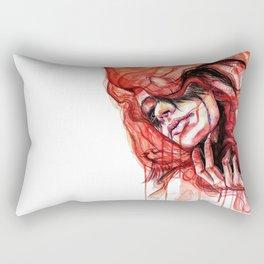 Metamorphosis-cardinal bird Rectangular Pillow
