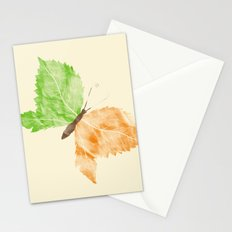 Time Flies, Seasons Change Stationery Cards