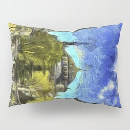 Blue Mosque Istanbul Art Pillow Sham