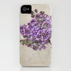Lilacs iPhone (4, 4s) Slim Case