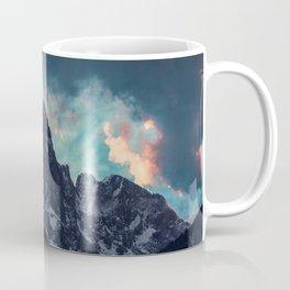 Magic mountain sunset Coffee Mug