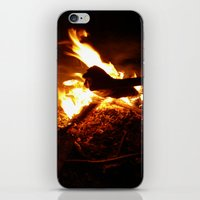 wreck it ralph iPhone & iPod Skins featuring Wreck by cottoncandirazor