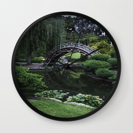 Japanese Garden Wall Clock