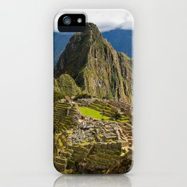 Machupicchu Inca Sanctuary iPhone Case