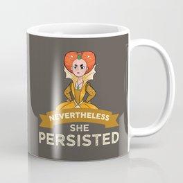 Queen Elizabeth 1 - She Persisted Coffee Mug