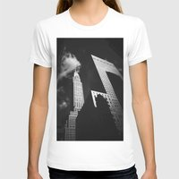 building T-shirts featuring Chrysler Building by Vivienne Gucwa