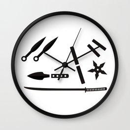 Ninja Kit Wall Clock