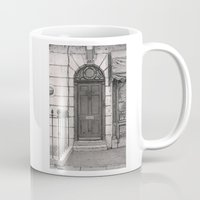 221b Mugs featuring 221b by v0ff