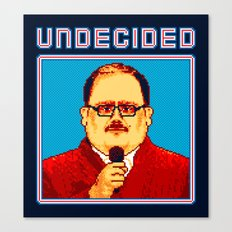 Undecided (Ken Bone) Canvas Print