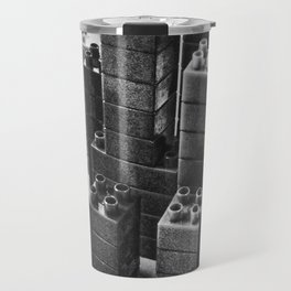 Playing in the city of bricks and stones Travel Mug