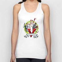 gta Tank Tops featuring GTA TIME!! by Philtomato