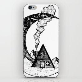 Cabin on the Moon iPhone Skin